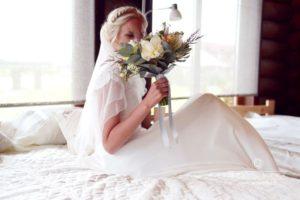 Līgava, līgavas pušķis