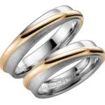 Laulību gredzeni no baltā zelta