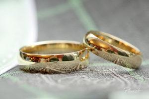 klasiski gredzeni, laulību gredzeni, dzeltenā zelta gredzeni