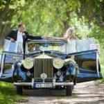 Rolls Royce kāzu auto
