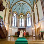 kāzu ceremonija Torņkalna baznīcā