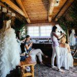 kāzu rīts, kāzu rīta pucēšanās, kāzu kleita, Natālija Jodo Zolberga