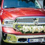oriģināls kāzu auto, Vinteru kāzas