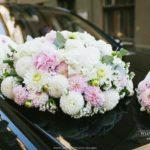 kāzu floristika auto