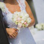 līgavas pušķis, kāzu ceremonija