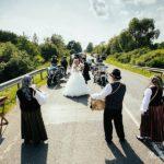 Vinteru kāzas, motocikli kāzās