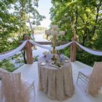 romantiskais galdiņš kāzās