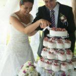 kūciņtorte kāzās