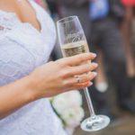 šampānietis kāzās, līgava