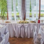 kāzu galdi, kāzu noformējums
