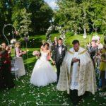 laulību ceremonija Mālpils parkā