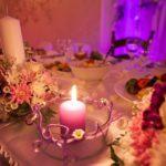kāzu dekorācijas galdiem, Billes nams