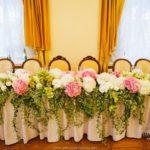 Valters Ozoliņš, kāzu galdu dekorācijas