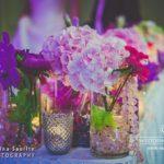 floristika galdiem kāzās