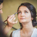 kāzu make-up, līgava kāzās, kāzu rīts