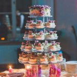 kāzu kūciņtorte, kāzu noformējums
