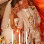 3 sveces kāzās