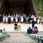 estrāde kāzās, kāzas Siguldā