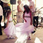 dejas kāzās, bērni kāzās