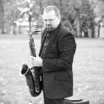 Aigars Čudars, kāzās saksofons