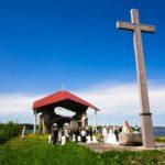 kāzu ceremonija Meinarda salā
