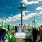 kāzu ceremonija uz Meinarda salas