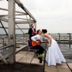 Rīgas terase kāzas, ģitāra kāzās