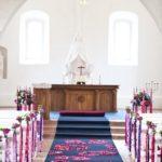 Krimuldas baznīca kāzās