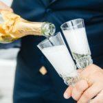 idejas kāzām, šampanietis, baltic pictures