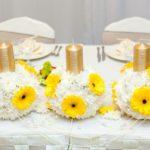 kāzu dekorācijas, viesu nams Debesu bļoda