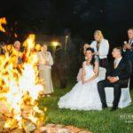 kāzu mičošana, ugunskurs, baltic pictures