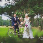 kāzu fotosesija, ritenis, Edgars Pohevičs