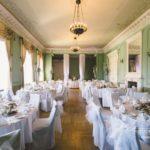 Kāzu svinību vietu dekorēšana, Mežotnes pils kāzu mielasts