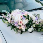 kāzu auto dekorācijas