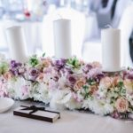 kāzu dekorācijas, ziedu dekorācijas