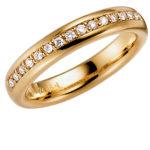 Schalins gredzeni, saderināšanās gredzeni, zelta gredzeni ar briljantiem
