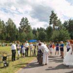 pakava liešana kāzās
