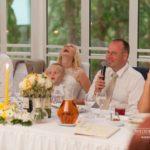 jaunā pāra emocijas kāzās