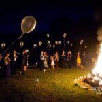 mičošanas noformējums, ugunskurs mičošanā, baloni kāzās