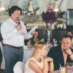 Valters Krauze, vakara vadītājs kāzās