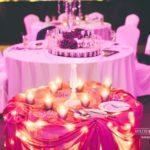 kāzu tortes galds, kāzu torte