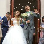 ziedlapiņas kāzās