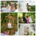 kāzu romantiskais galdiņš brīvā dabā, milestiba.lv