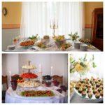 kāzu uzkodu galds, Mežotnes pils