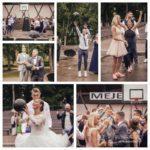 sports kāzās, basketbols kāzās
