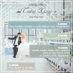 kāzas, Kāzu Aģentūra, idejas kāzām, kāzu organizēšana, kāzas Latvijā, kāzu lekcijas, lekcijas līgavām, kāzu organizēšana Latvijā