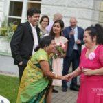 kāzu viesi, Mežotnes pils kāzās, laulību ceremonija, tēvs un līgavainis kāzās, Kāzu Aģentūra