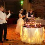 kāzu torte, jaunais pāris, Kāzu Aģentūra, milestiba.lv